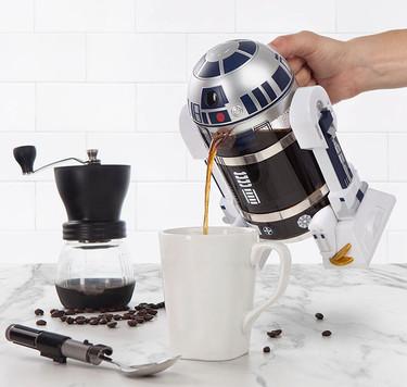 Coffe Press R2-D2, la cafetera ideal para fanáticos de Star Wars