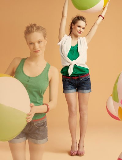 Verde Blanco, lookbook Verano 2011