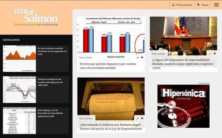 Nueva versión para tablets de El Blog Salmón