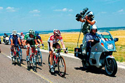 Las motos del Tour de France