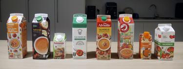 Los salmorejos de los principales supermercados de España, de mejor a peor