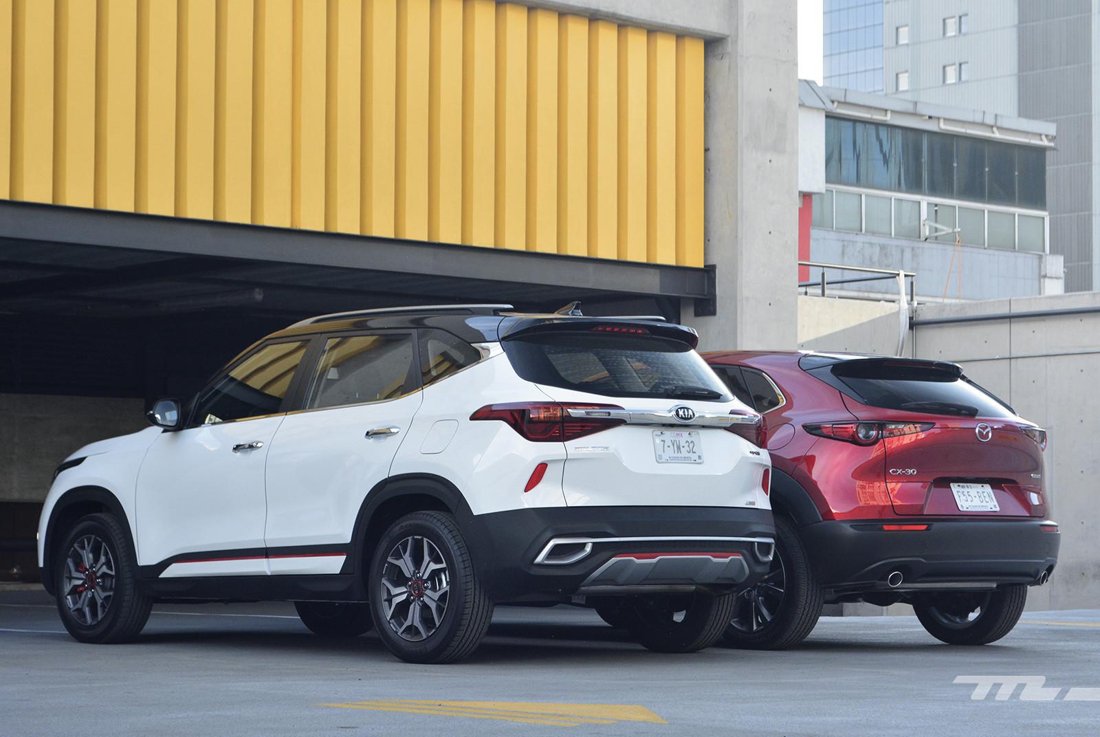 Foto de KIA Seltos vs. Mazda CX-30 (comparativa) (11/32)