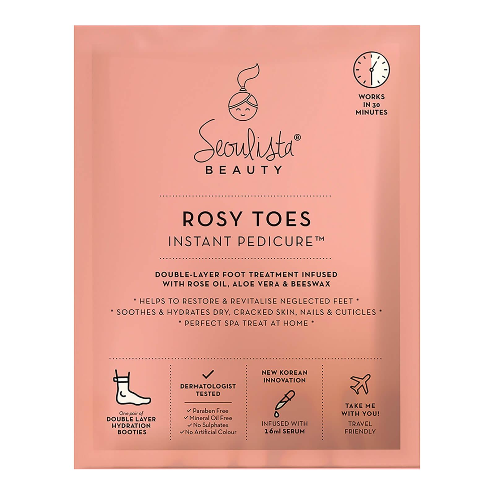 Mascarilla revitalizadora, suavizante e hidratante para pies de Seoulista Beauty