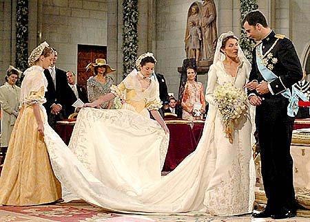 novias con historia: la princesa letizia