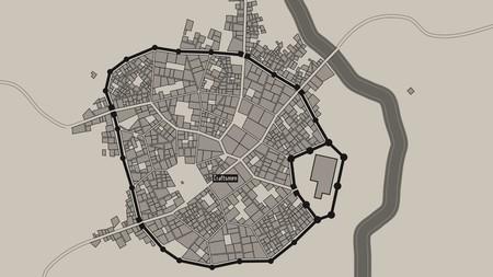 Crea ciudades medievales con este generador de mapas online