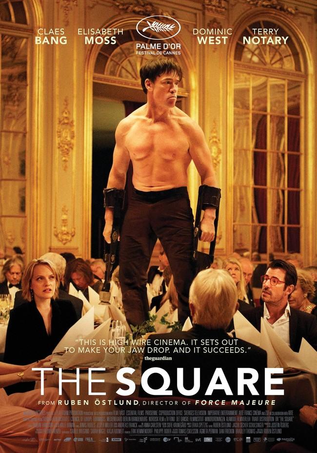 el póster de The Square