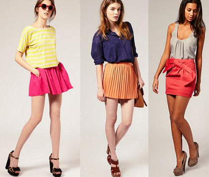 asos color block