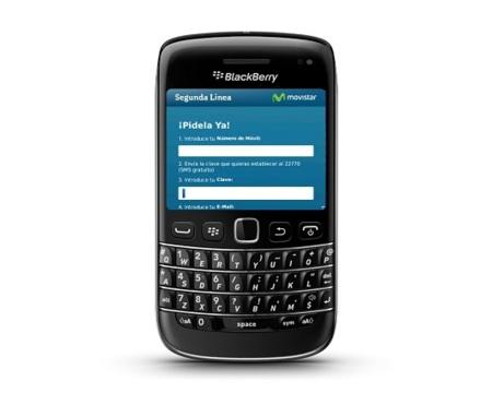 Movistar extiende su servicio Segunda Línea a terminales BlackBerry