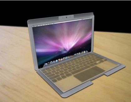 "Concepto de un posible ""MacBook touch"" basado en las últimas patentes de Apple"