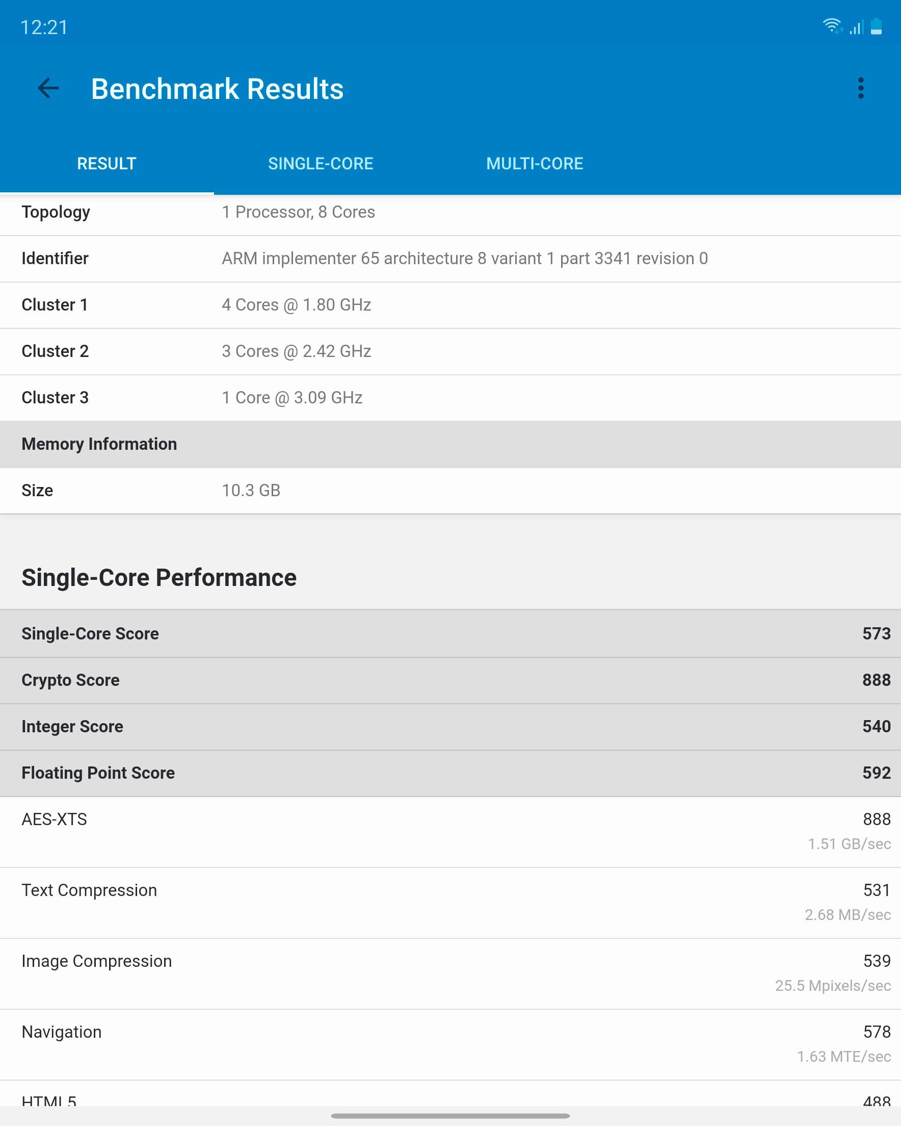 Foto de Samsung Galaxy Z Fold 2, benchmarks (6/14)