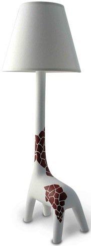Una lámpara con forma de jirafa