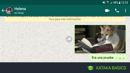 Cómo crear tus propios GIFs con WhatsApp y usarlos fácilmente en cualquier otra app