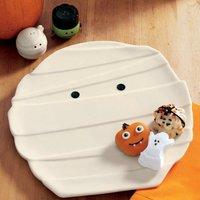 Decoración para Halloween: un plato momificado