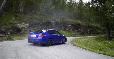 Gymkhana Subaru WRX STi
