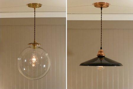 Lámparas de cobre, dale un toque vintage a tu iluminación