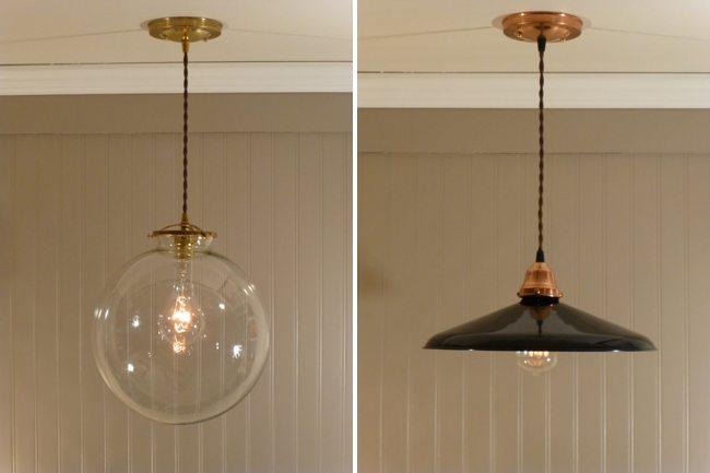 L mparas de cobre dale un toque vintage a tu iluminaci n - Lamparas de decoracion ...
