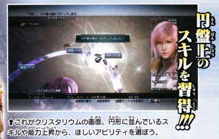 Crystalium System Final Fantasy XIII