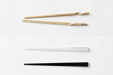 Palillos minimalistas, elegantes y prácticos diseños dos en uno