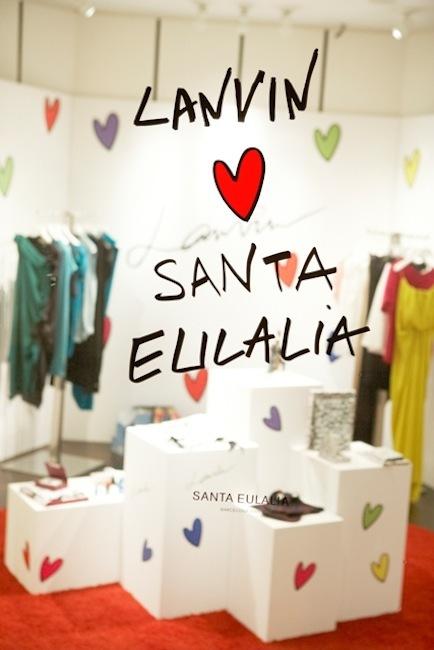 Santa Eulalia presenta su Pop-up Store más divertida de la mano de Lanvin