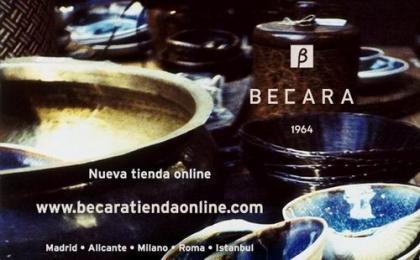Becara inaugura su nueva tienda online