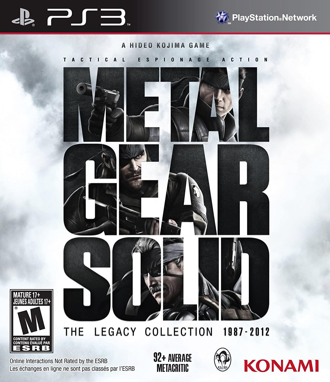 Metal Gear Solid: Legacy Collection (No Artbook) para PS3