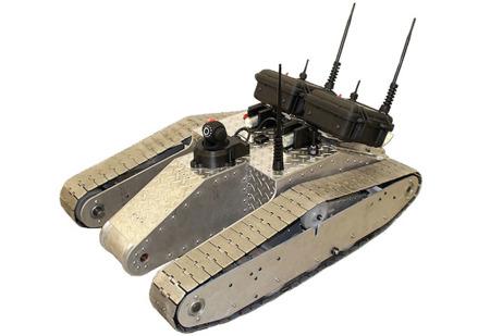 Diseñan un robot para 'sembrar' redes WiFi en el campo de batalla