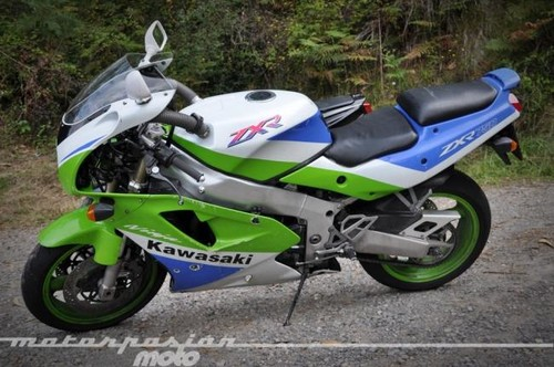 Aquellas maravillosas motos: prueba Kawasaki ZX-R 750 J (características)
