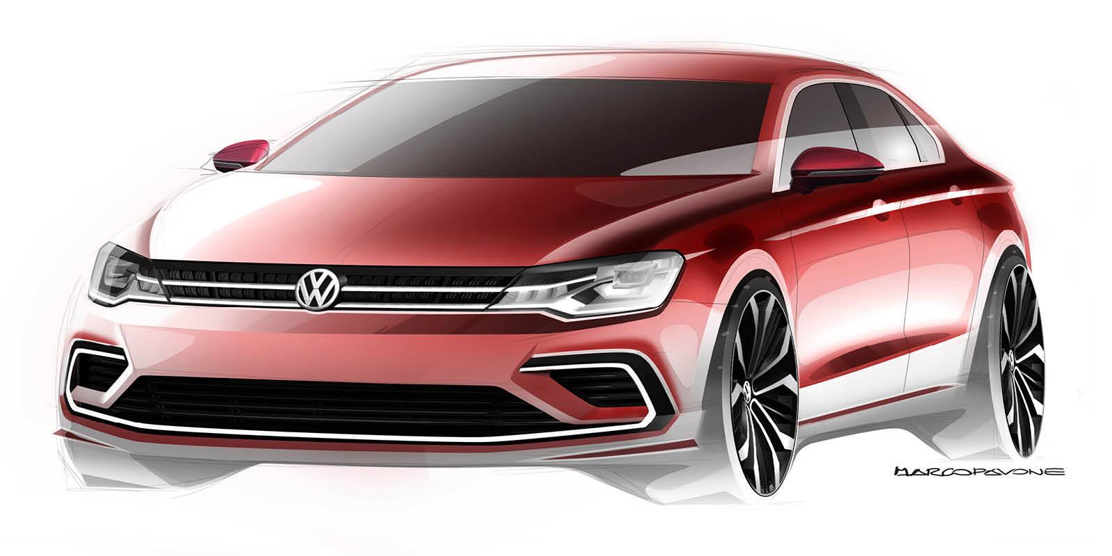 Foto de Volkswagen New Midsize Coupé Concept (3/3)