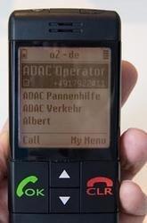 Teléfono móvil pensado para personas mayores