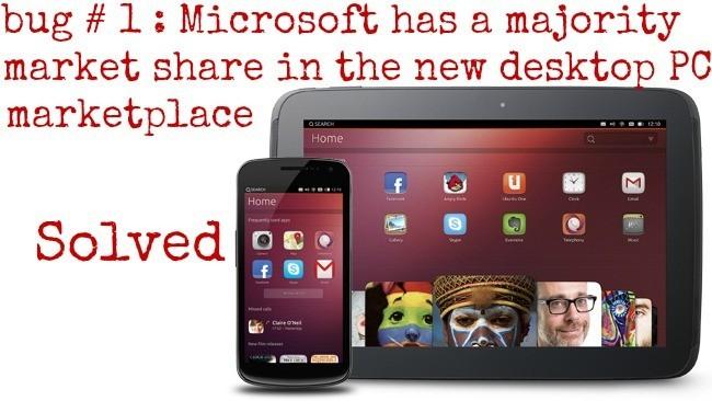 Ubuntu da por cerrado su primer bug, la imagen de la semana