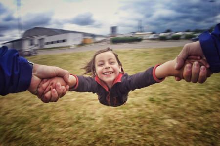 La felicidad va siempre en la mochila de todo niño