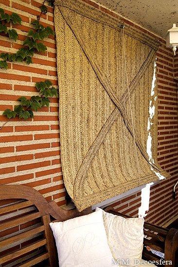 persianas de esparto contra el calor una opci n eficaz y