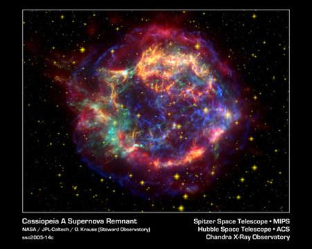 Eco lumínico ayuda a resolver misterio de supernova