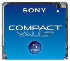 Compact Vault, el nuevo formato de tarjetas de Sony