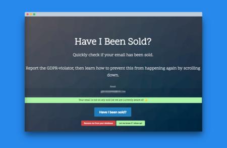 Have I Been Sold?, esta web te dice su tu email ha sido vendido a terceros sin tu consentimiento
