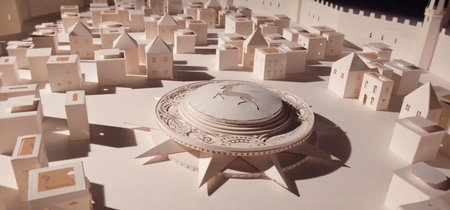 7.600 recortes de papel sirven para recrear de forma épica la secuencia de inicio de 'Juego de Tronos'