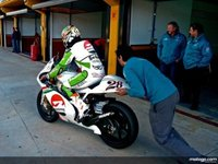 Primeros tests para la categoría de 125cc y 250cc