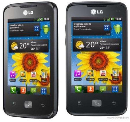 LG optimus Hub