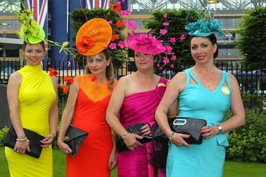 Ascot reúne los sombreros más locos y extravagantes
