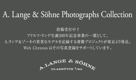 Webchronos lanza una búsqueda para relojes únicos de  A. Lange & Söhne