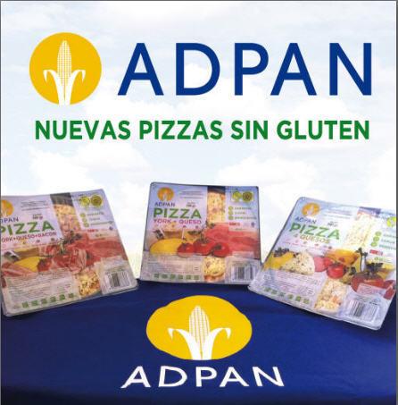 Nuevas pizzas sin gluten