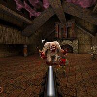 La edición coleccionista de Quake en Limited Run Games tendrá el icónico Quad Damage a modo de estatua giratoria
