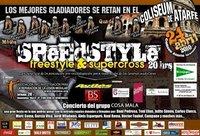 El sábado 24 disfruta del Freestyle y el Supercross en Granada