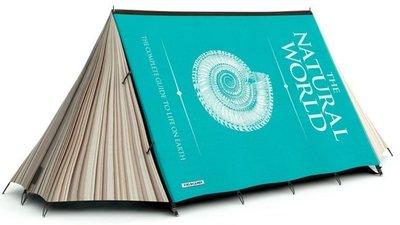 ¿Has dormido alguna vez dentro de un libro?