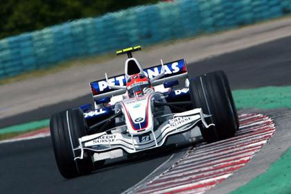 BMW Sauber sigue impresionando esta temporada