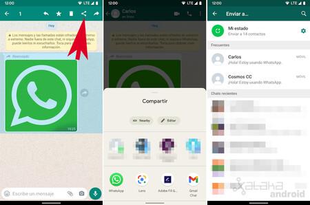 WhatsApp Compartir