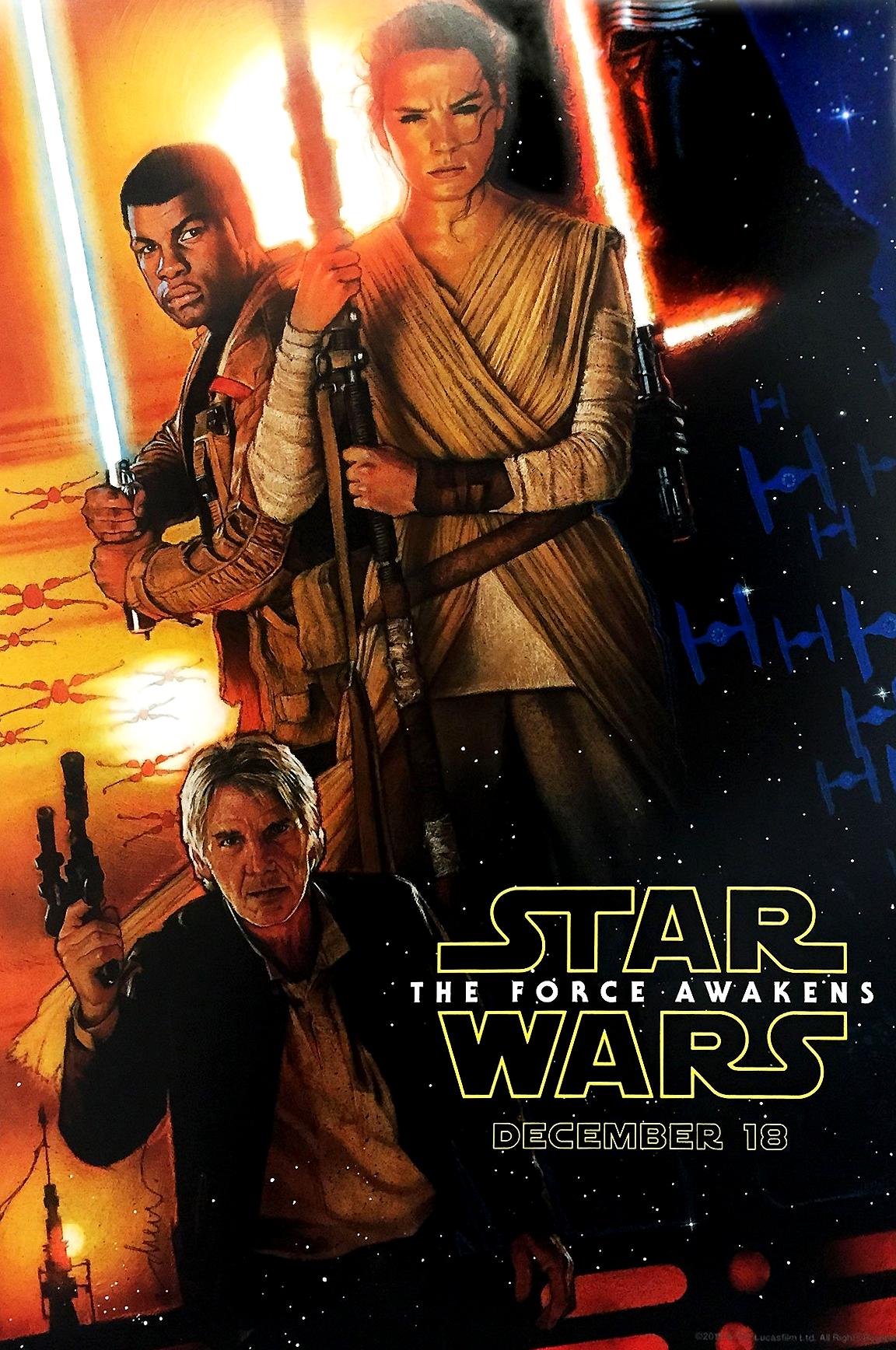 Foto de 'Star Wars: El despertar de la fuerza', todos los carteles del Episodio VII (2/18)