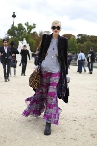 Modelos en la Semana de la Moda de París. Estilo en la calle y tendencias Otoño-Invierno 2010/2011