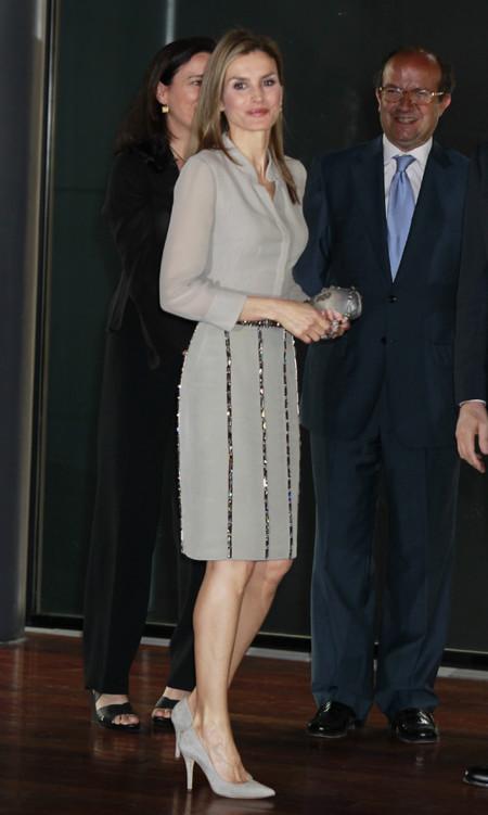 Princesa Letizia primera aparición después de la abdicación