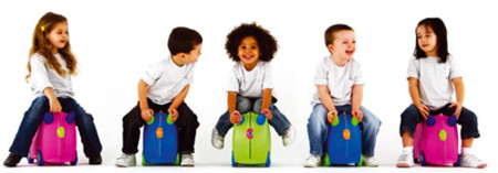 Trunki, una maleta ideal para niños